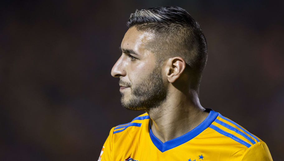 MONTERREY, MEXICO - MARCH 31: Ismael Sosa of Tigres looks on during the 13th round match between Tigres UANL and Leon as part of the Torneo Clausura 2018 Liga MX at Universitario Stadium on March 31, 2018 in Monterrey, Mexico. (Photo by Azael Rodriguez/Getty Images)