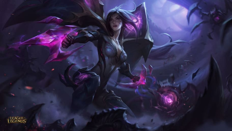 Blood Moon Evelynn Splash Art, Kai'Sa, Lost Chapter Changes