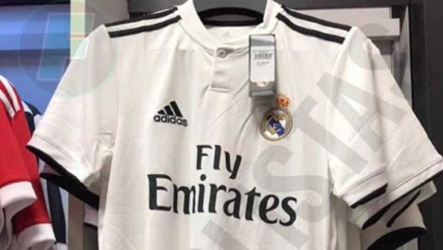 PHOTO  Real Madrid 2018 19 Home Kit Leaks Online Ahead of Official Unveiling 1ffc1b18ce638