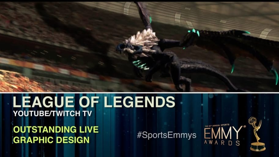 League of Legends Wins Sports Emmy for Outstanding Live Graphic Design |  dbltap