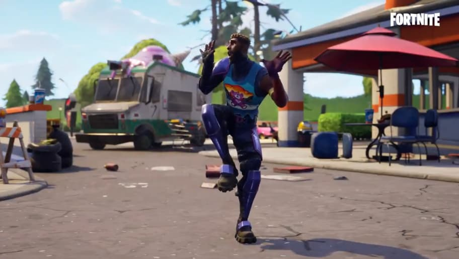 New Zany Dance Added To Fortnite Battle Royale Dbltap