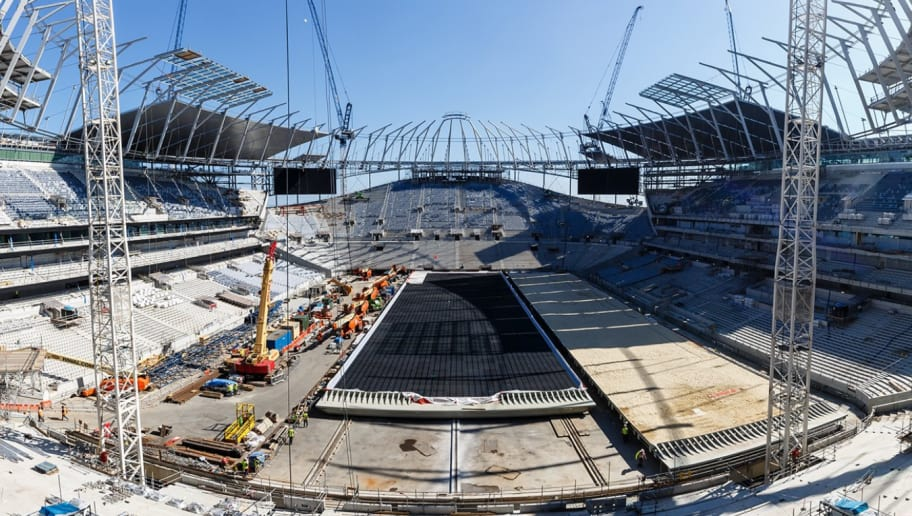 Tottenham Hail Successful Tests On Uk S First Retractable