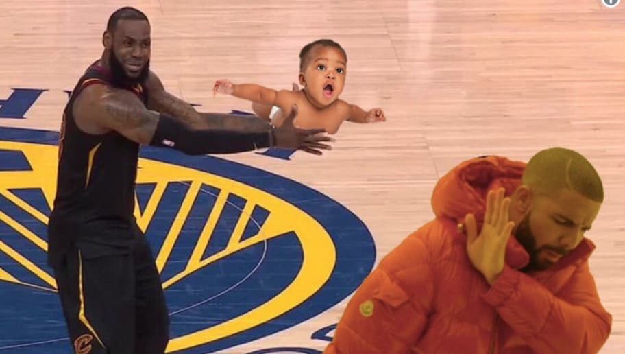 size 40 4e380 fa59f 12 Funniest Memes of LeBron Freaking Out on JR Smith