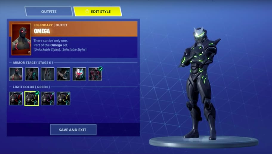 New Customizations For Carbide And Omega Skins In Fortnite Patch 44
