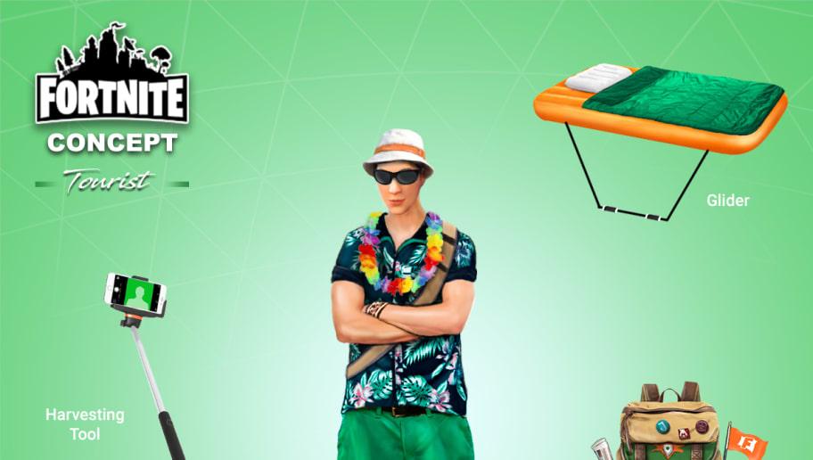 Fan Creates Hysterical Tourist Fortnite Skin Concept  6ae2816fb8a