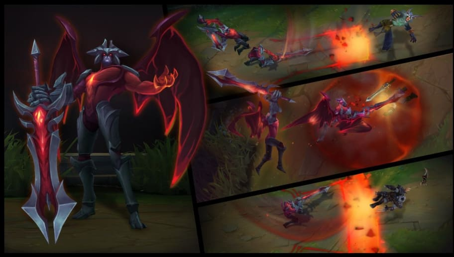 Aatrox Rework Abilities and Gameplay Revealed in League of Legends