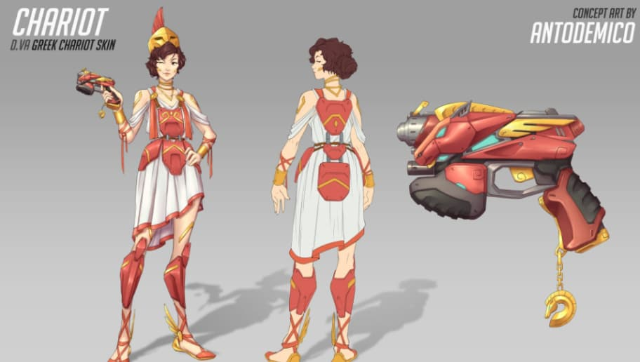Concept Art Of Mei From Overwatch