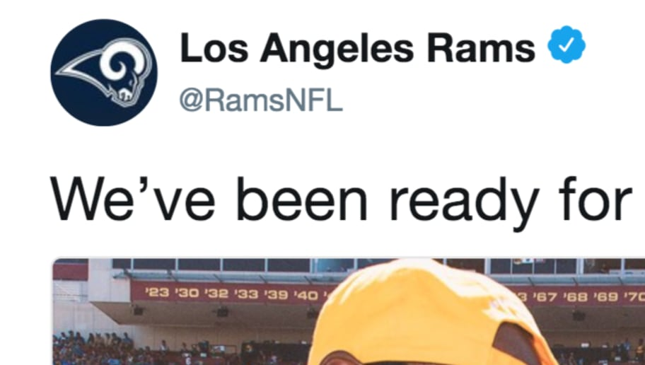 Rams Shoot Their Shot On Twitter To Recruit LeBron James LA