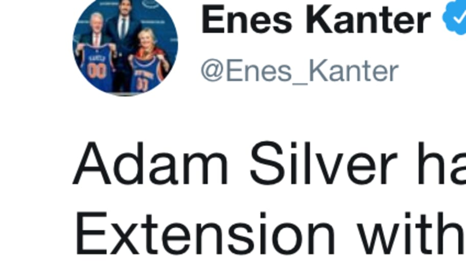 bbc050f28 Enes Kanter Destroys Adam Silver on Twitter for Letting the Warriors Become  Unfair