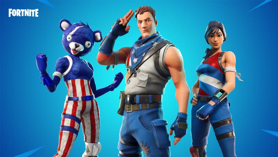 Epic Games Releases New Stars And Stripes Fortnite Skins Dbltap