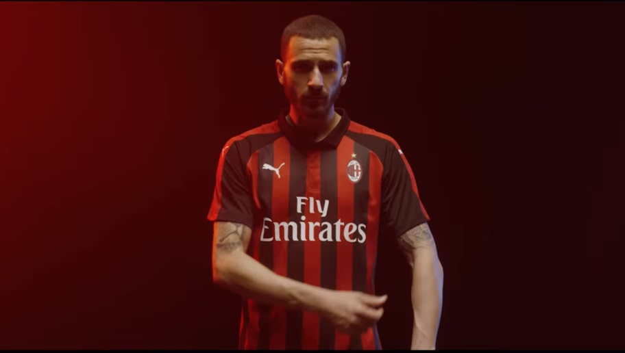 e64a1b5bd PHOTO: 'A New Milan' 2018/19 Home Kit Release Pays Homage to Club History  and Iconic City