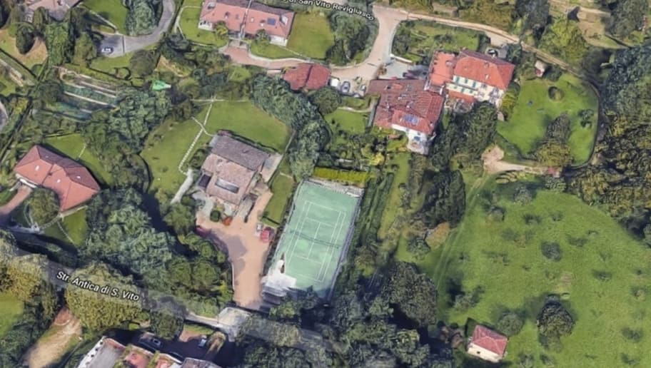 Photos Cristiano Ronaldo S Rumoured New House In Turin Leaked By