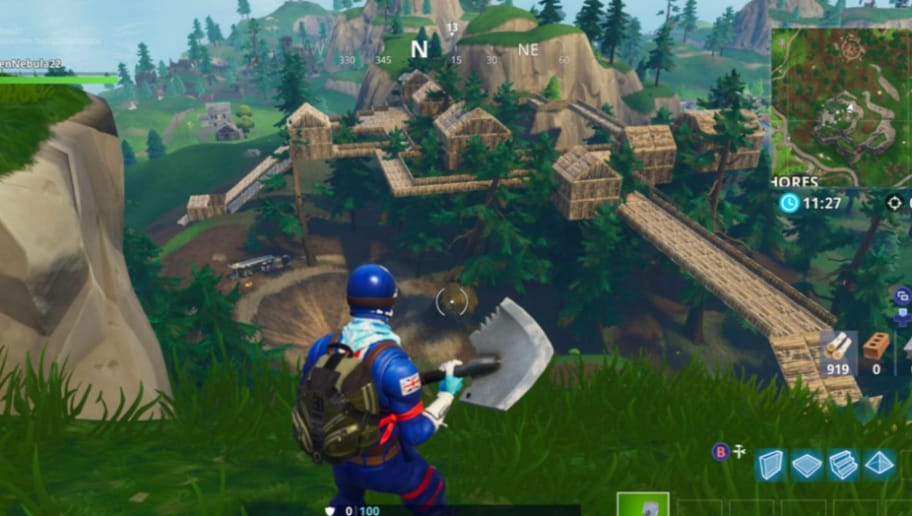 Fortnite Fan Creates Vertical Village Concept Dbltap