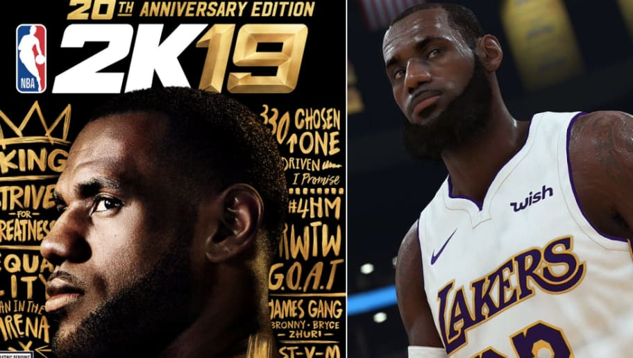 49803ae13ab8 LeBron Doesn t Have a 99 Rating in NBA 2K19 and the World Makes No Sense