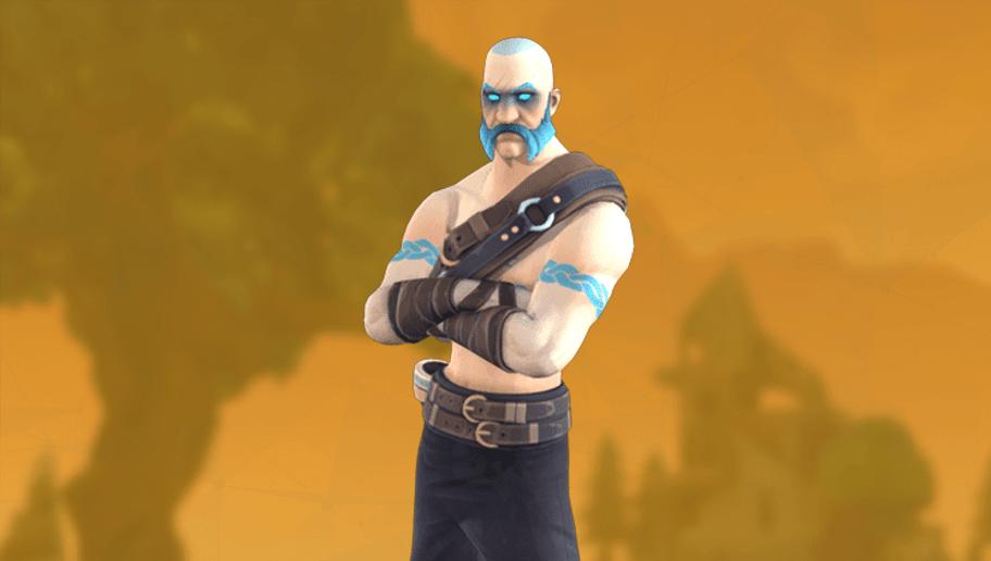 one of the new fortnite - john wick skin in fortnite