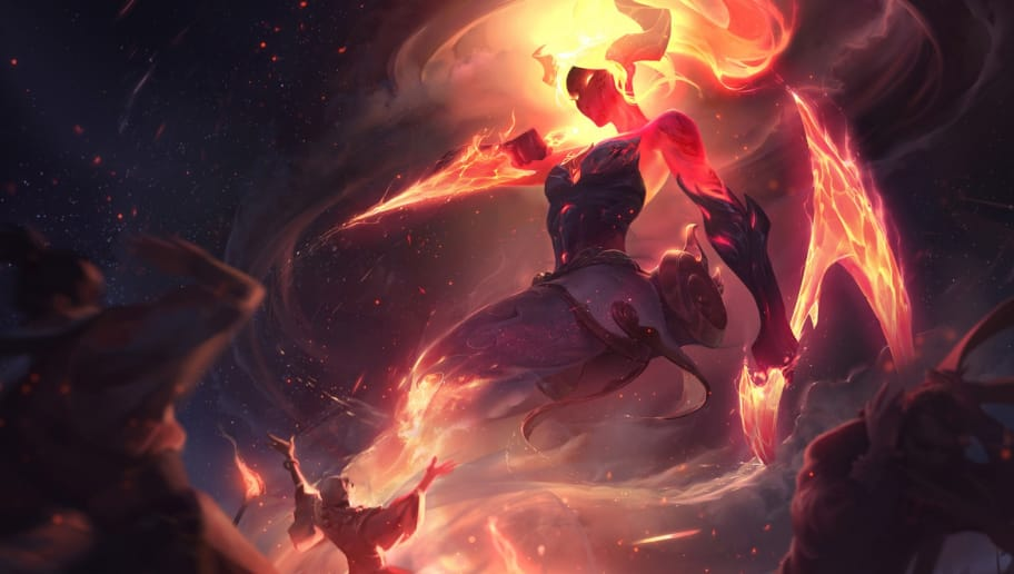 League of Legends Akali Receives New Infernal and Silverfang Skin