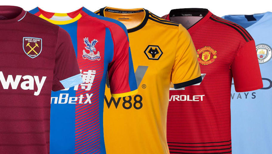 b3d78cded02 WORST to BEST  Home Jerseys of all 20 Premier League Teams for the 2018-19  Season