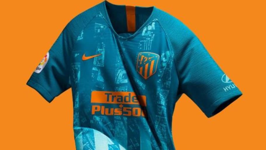 2a8834a8a29 VIDEO  Atletico Madrid Release New 3rd Kit for the 2018 19 Campaign ...