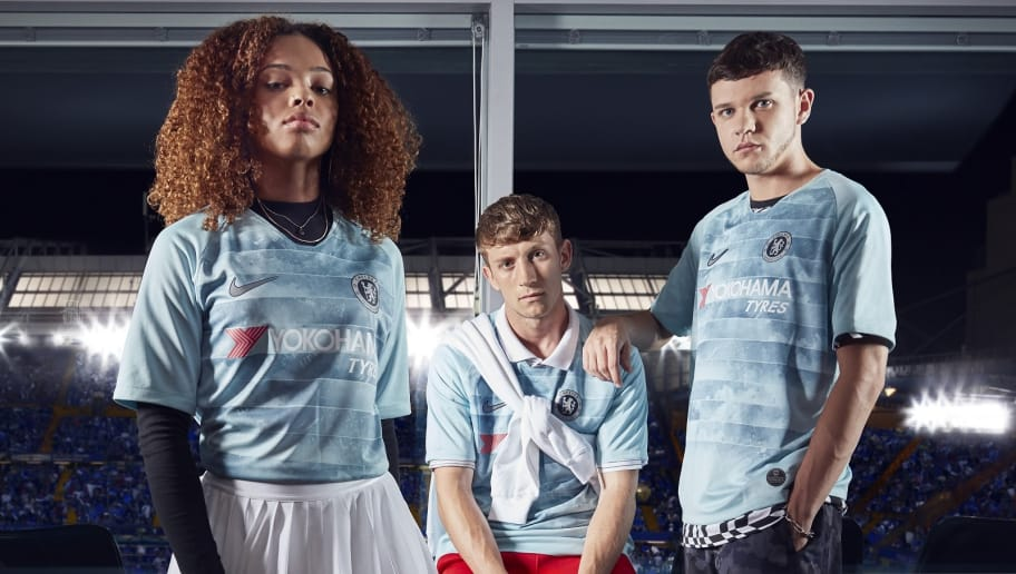 Chelsea Launch New Teal Third 2018 19 Kit Featuring Unique  NikeConnect   Technology 1afdb3be1