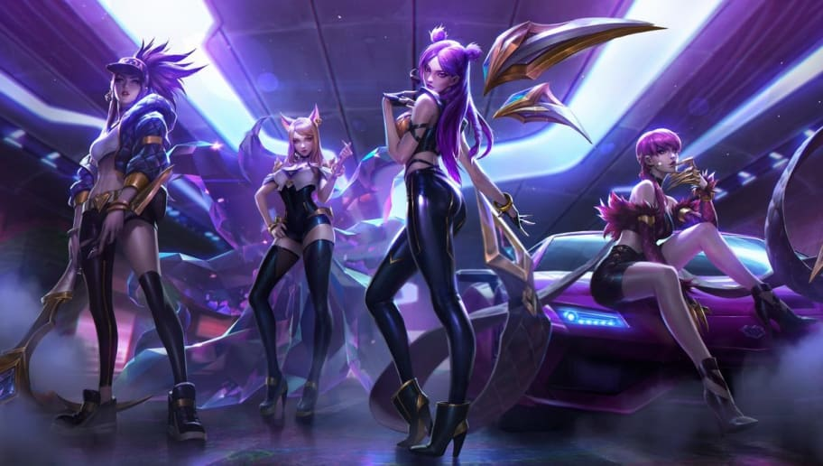 New K/DA Skins for Ahri ...