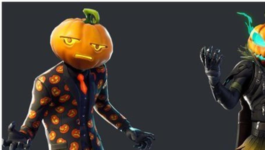 new fortnite leak reveals pumpkin and plague doctor halloween skins - pumpkin skin fortnite