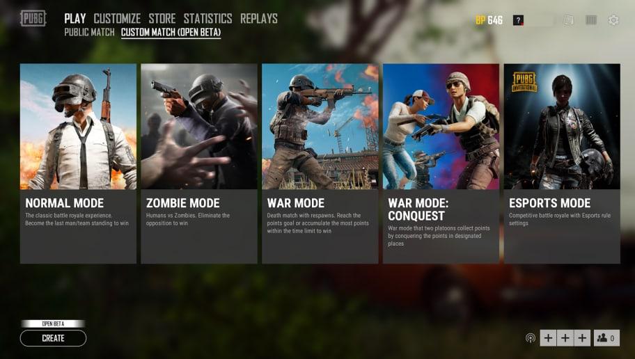 PUBG Corp Adds War Mode: Conquest in PUBG PC PTS Patch 23