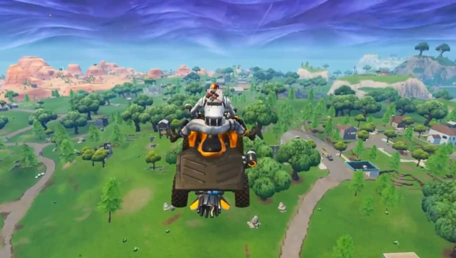 Quadcrashers Can Be Flown In Fortnite Dbltap