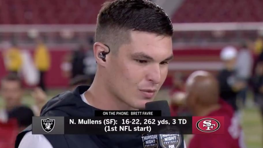 Video Hero 49ers Qb Nick Mullens Gets Call From Fellow Southern