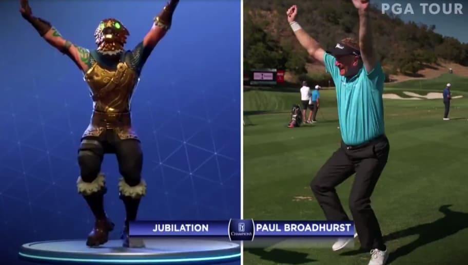 Video Aging Golfers Should Not Attempt Fortnite Dance Moves 12up