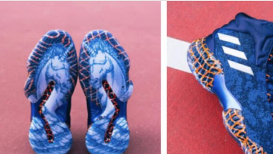 14db6d9a91fd20 Kristaps Porzingis  New Unicorn-Themed Adidas Sneakers Are Unreasonably Sick