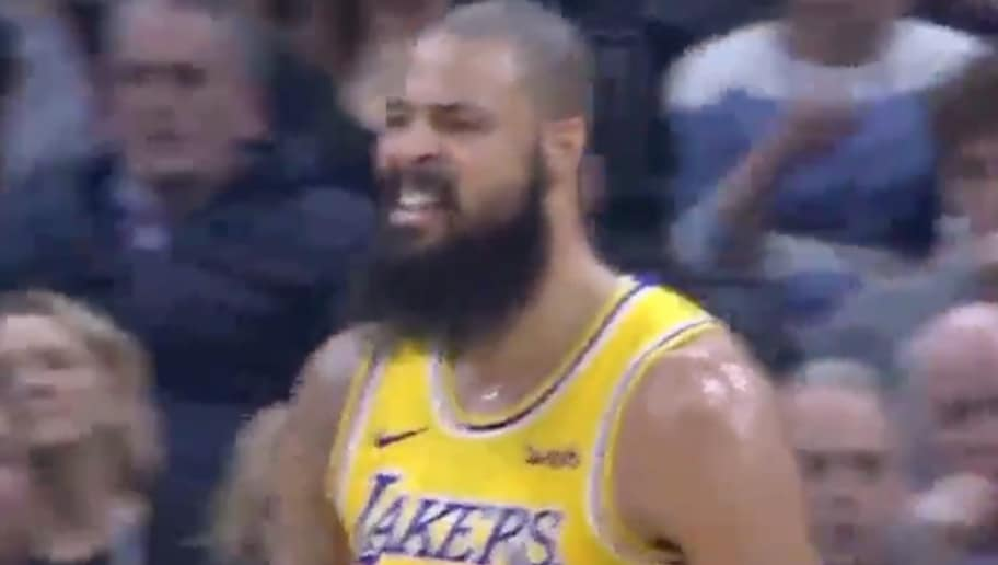 9c26d0717 VIDEO  Tyson Chandler Has Already Completely Changed How the Lakers Defend