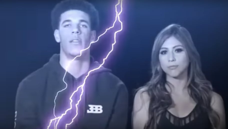 aa9839ccc86 VIDEO  Lonzo Ball Casually Dumped His Baby Mama and She Threatened Revenge
