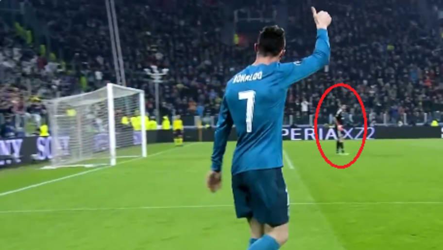 La réaction de Buffon après le retourné de Ronaldo vient d
