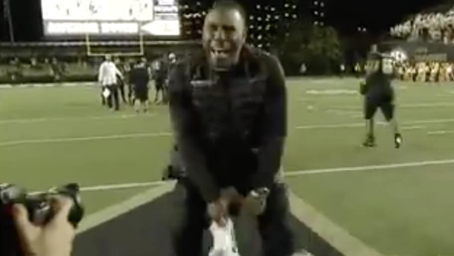 VIDEO: Vanderbilt Coach Derek Mason Busts a Move After Becoming Bowl  Eligibile