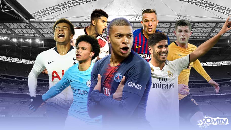 Os 50 melhores jogadores sub-23 do futebol mundial  f82bbd8d3a0ae