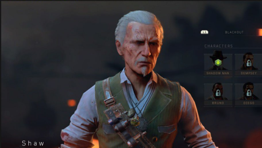blackout character challenges