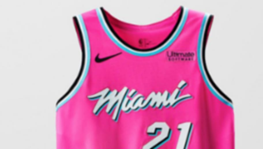 9ed30db587e Heat Have No Interest in Changing to Amazing  Vice  Jerseys Full Time