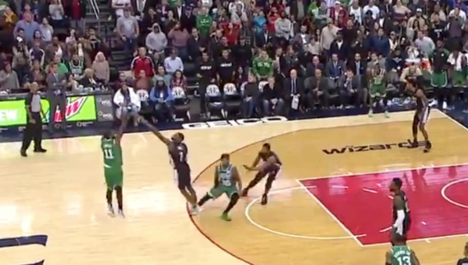 445ca3ccd32 VIDEO  Kyrie Irving Ices Game With Two Absurdly Clutch Threes in OT Against  Wizards