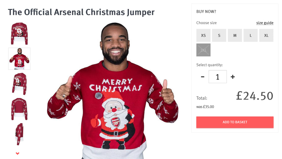a5d1fa45d19 Christmas Jumper Day: Ranking the Premier League Top 8 by Their Xmas ...