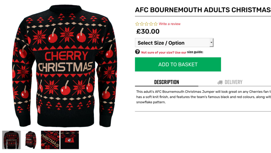 Christmas Jumper Day  Ranking the Premier League Top 8 by Their Xmas ... fdf50ae92