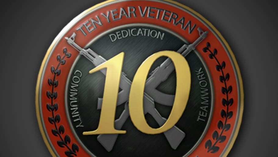 Cs Go Players Receive 10 Year Veteran Coin Dbltap