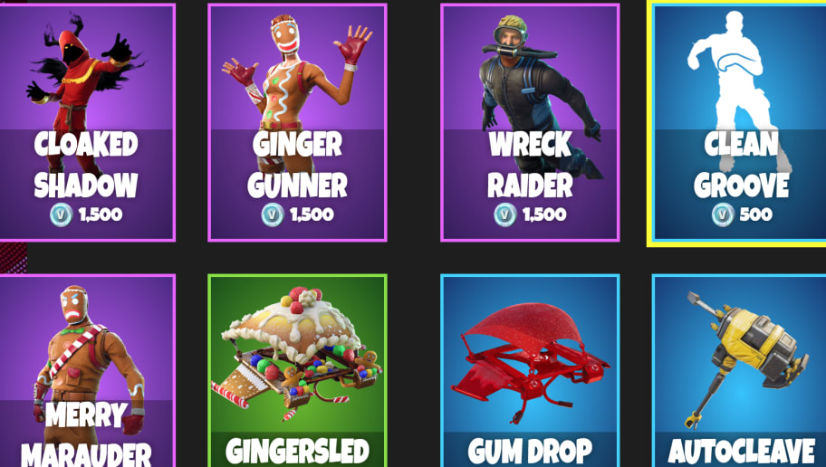 Clean Groove Fortnite New Fortnite Item Shop For Dec 28 Dbltap