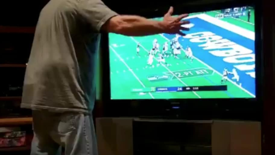 NSFW VIDEO Bettor Goes Crazy After Seahawks Ruin His