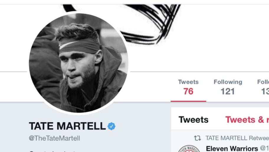 Tate Martell Updates Twitter Profile Suggesting Hes No