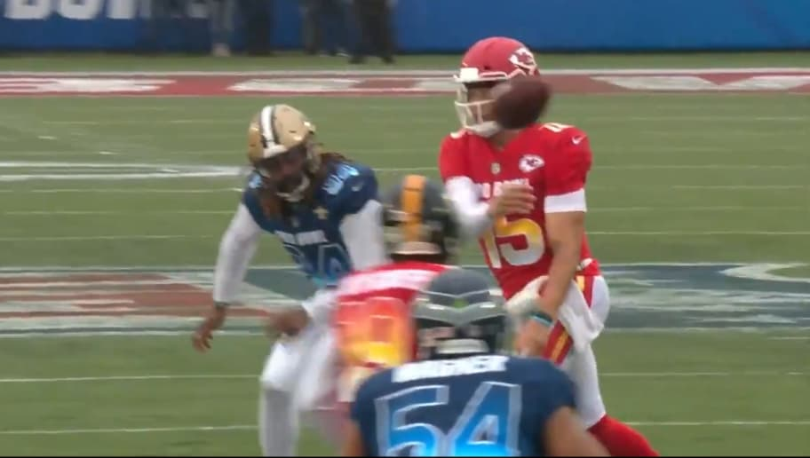 VIDEO  Watch Every Patrick Mahomes Pass From the 2019 Pro Bowl  2471e9f24