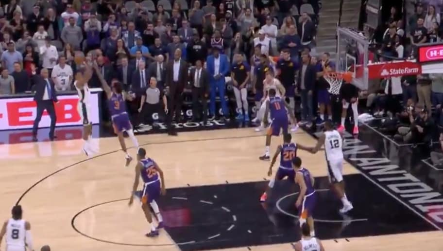 VIDEO: Rudy Gay Drills Game-Winner at Buzzer to Lift Spurs Over Suns