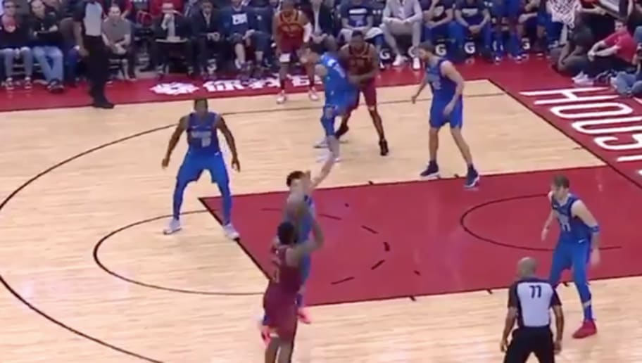 460f3366c1c9 VIDEO  James Harden Extends 30-Point Streak With Trio of 3-Pointers in Last  2 Minutes