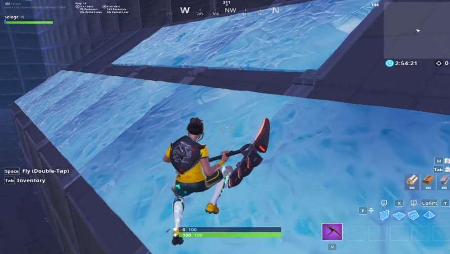 youtuber selage created a parkour map - fortnite creative puzzle maps no parkour