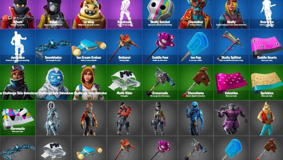 Fortnite Skins Leak After Fortnite Patch 7 40 Release | dbltap