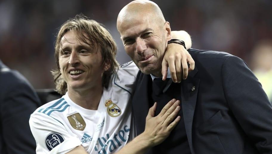 Ce que Zidane a dit à Modric dès qu'il est devenu l'entraîneur du Real
